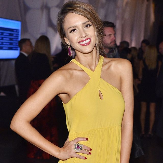 Exclusive: See How Jessica Alba Actually Organizes Her Closet