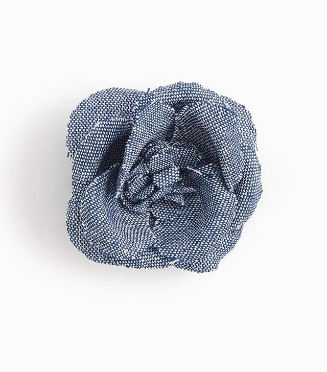 Hook + Albert Blue Lapel Pin