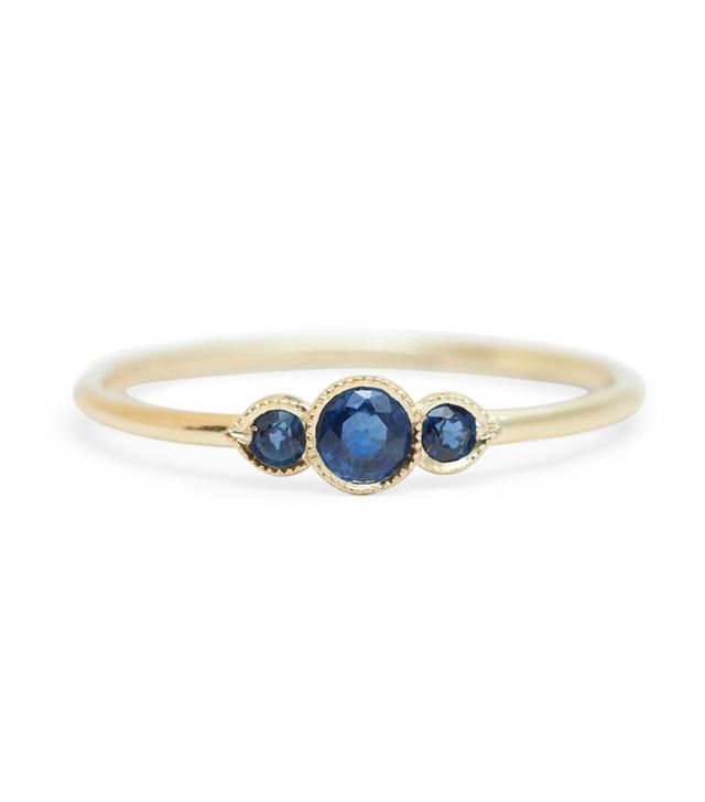 Ila Melika Sapphire Ring