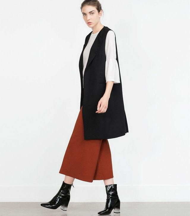 Zara Bell Sleeve Top