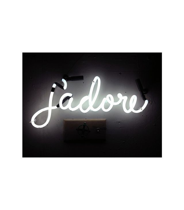 Marcus Conrad Poston J'adore Neon Sign