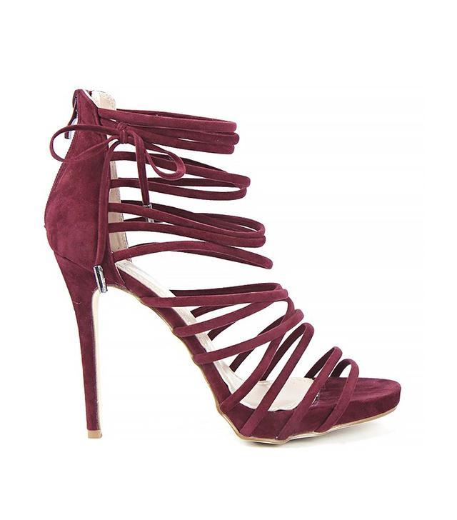 Boohoo Layla Multi Strap Heels