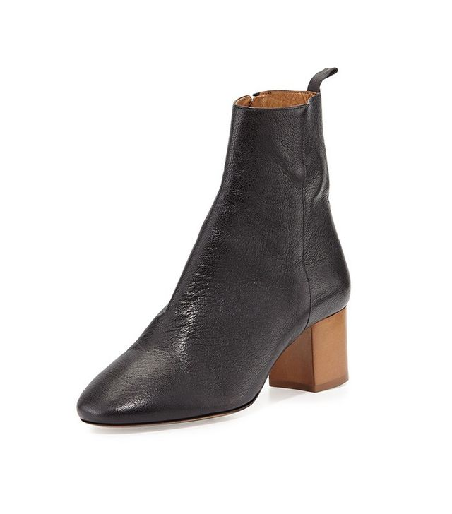 Isabel Marant Drew Leather Ankle Booties