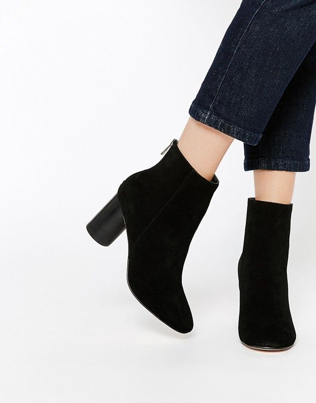 ASOS Reese Suede Ankle Boots