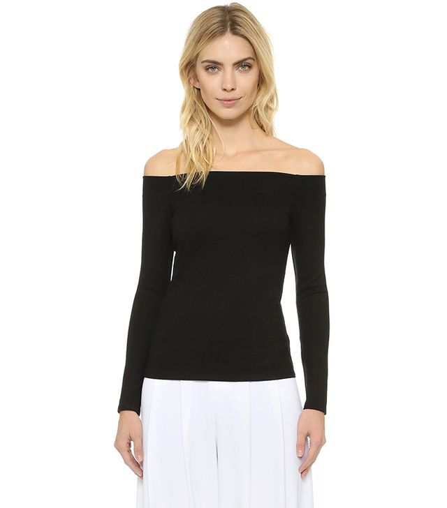 L'Agence Cynthia Off Shoulder Top