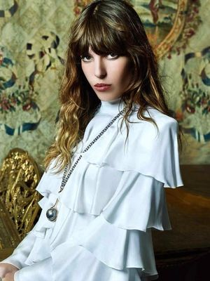 Lou Doillon Goes '70s Rocker-Chic For L'Officiel Japan
