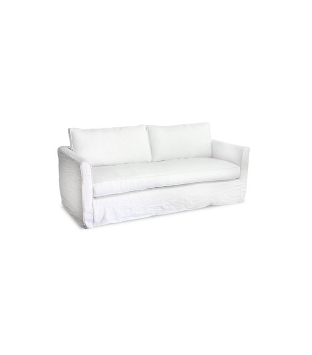 One Kings Lane Tacoma Linen Sofa