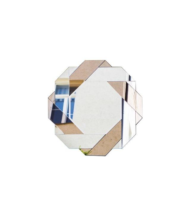 Modern Design Connection Italian Bicolor Octagonal Mirror