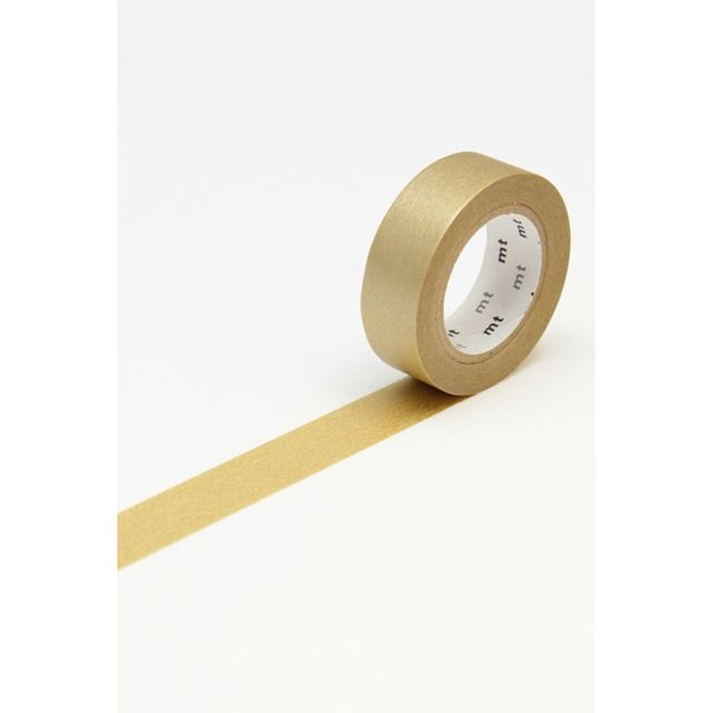 Notemaker Gold Washi Tape Roll