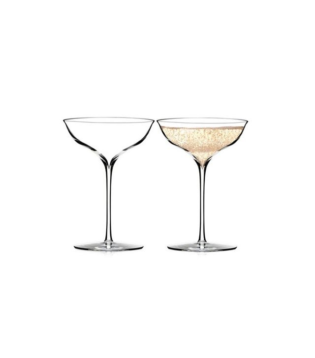 Waterford Pair of Elegance Champagne Bell Coupes