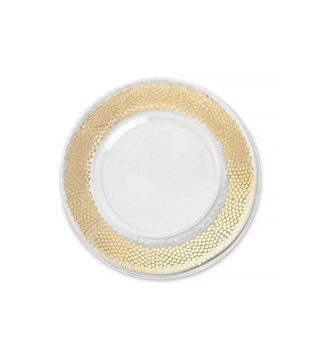 Egizia Dotti Gold Charger Plate