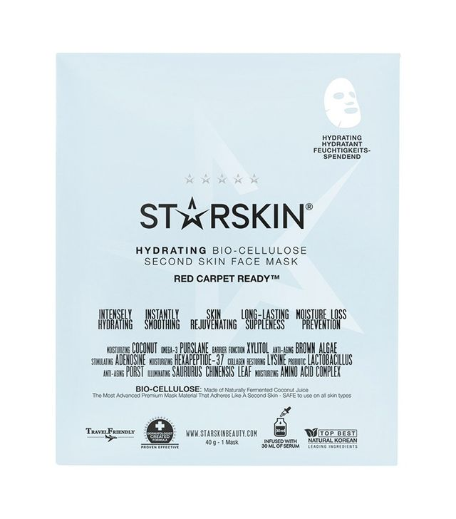 Starskin Hydrating Bio-Cellulose Second Skin Face Mask