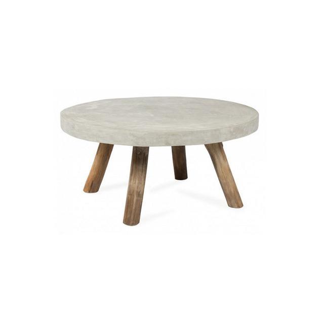Interiors Online Concrete Round Coffee Table