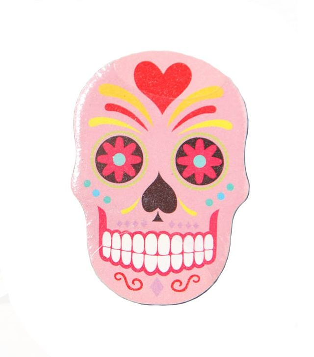 Red Berry Apple Mexican Skull Emery Board