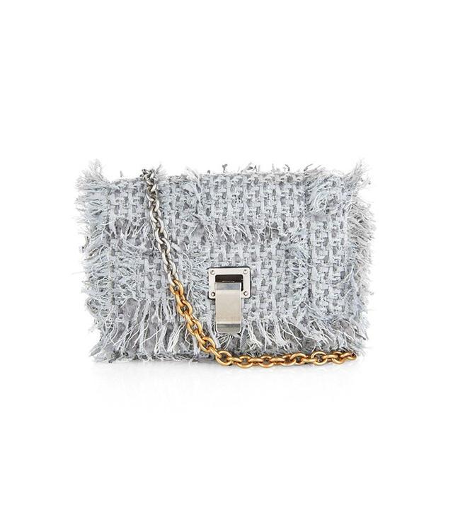 Proenza Schouler XS Courier Tweed Bag