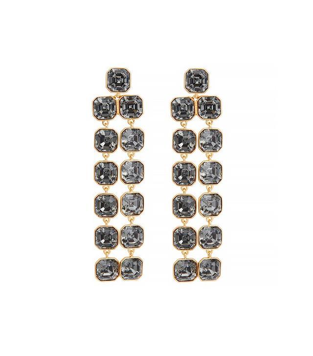 Henri Bendel Windsor Geo Chandelier Earrings
