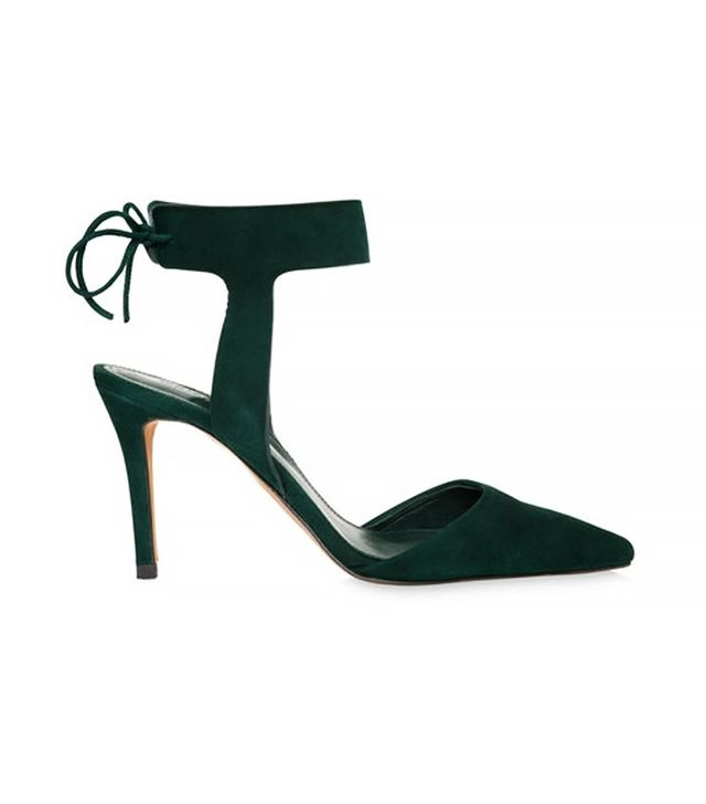 Whistles Vidlin Ankle Tie Point Shoes