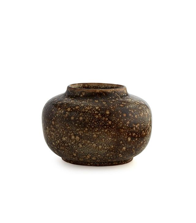 Aerin Roman Earth Brown Oval Vase