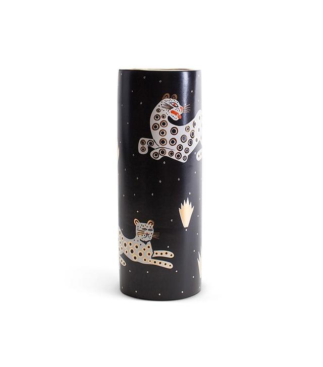 Waylande Gregory Leopard Vase