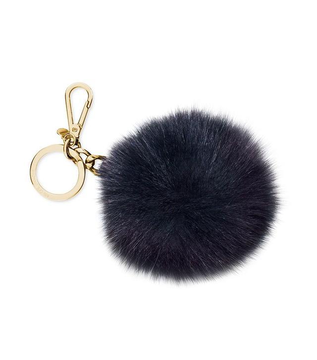 Michael Kors Extra Large Fur Pom Key Chain