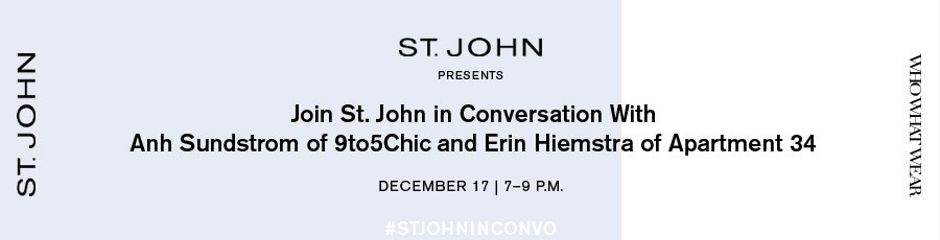 St. John in Conversation With Exceptional Women