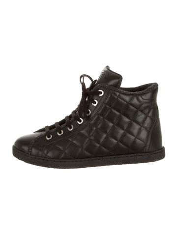 Chanel Quilted Sneakers