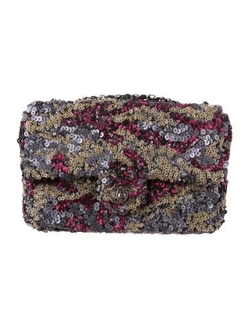 Chanel Sequin Flap Bag
