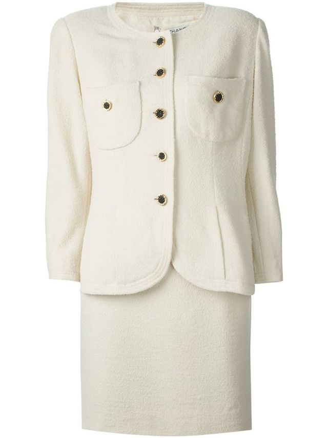 Chanel Vintage Dress Suit