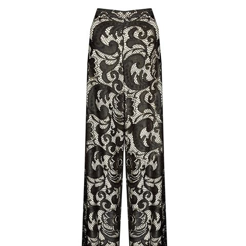 Super Flared Wide Leg Pant