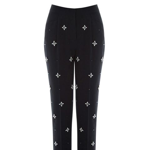 Embellished Front Trouser
