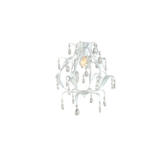 Beacon Lighting Geneve DIY Chandelier in White