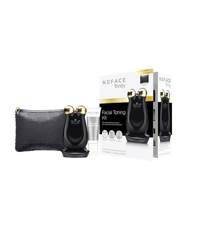 NuFace 22K Gold Trinity Gift Set