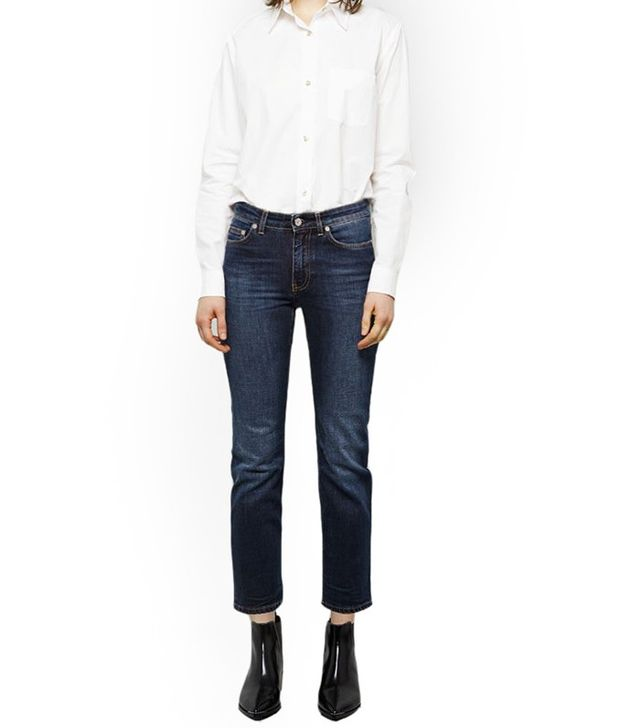 Acne Studios Row Prince Cropped Jeans