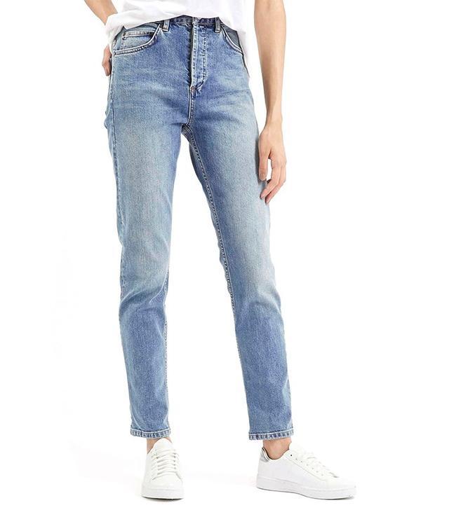 Topshop Tall Moto Girlfriend Jeans