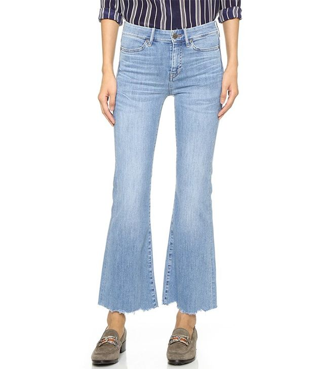 M.i.h. Jeans Lou Cropped Flare Jeans