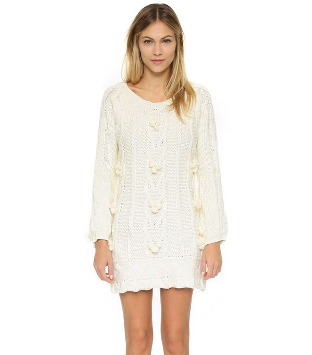 For Love & Lemons Braided Mini Dress