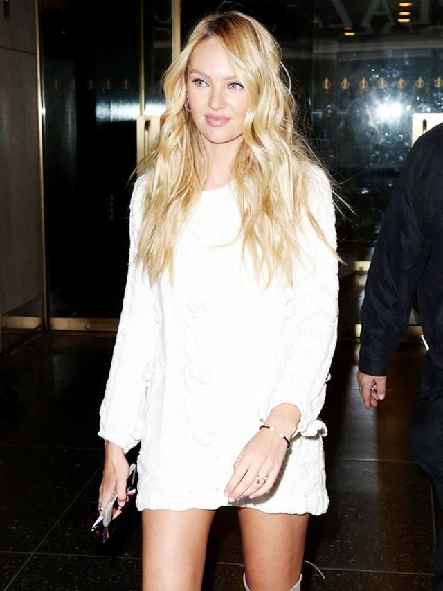 You Ll Wear Candice Swanepoel S Over The Knee Boots All