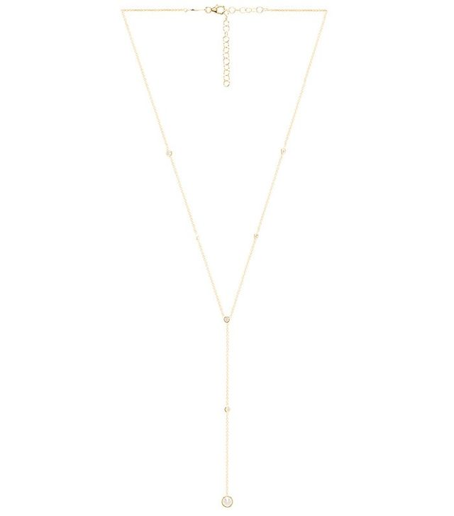Jacquie Aiche Drop Chain Necklace