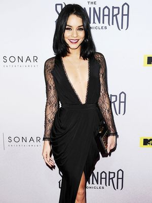 A Simple Way to Elevate Any Night-Out Look—Thank You,  Vanessa Hudgens