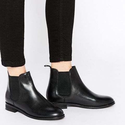 Airbound Leather Chelsea Ankle Boots