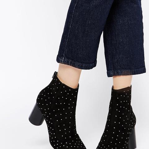 Revisit Stud Ankle Boots