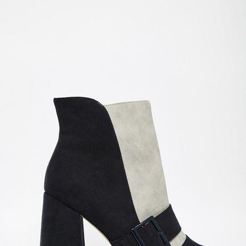 Eggshell Ankle Boots