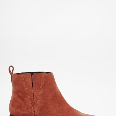 Ava  Suede Pointed Chelsea Boots