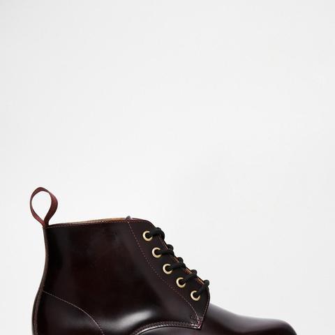 Kensington Emmeline 5-Eye Cherry Boots