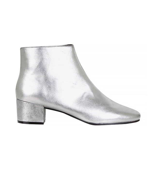 Topshop Betty Silver Boots