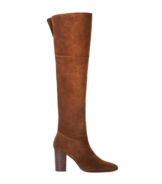 Mango Over-the-Knee Suede Boots