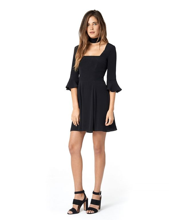 Christy Dawn The Emily Dress in Black