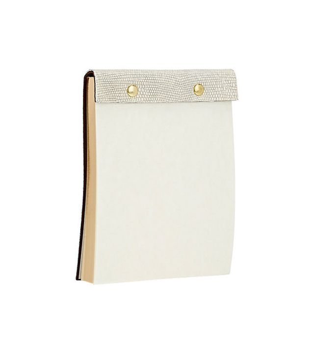 Barneys New York Leather0Bound Notepad