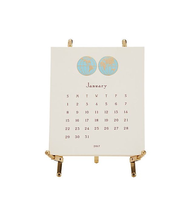 Connor 2017 World Easel Calendar