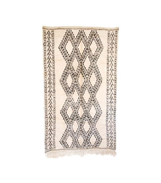 Maryam Montague Vintage Moroccan Beni Ourain Carpet